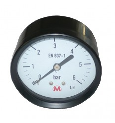 Manometer P63 0-6bar