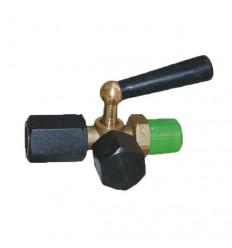 Kohút tlakomera M20x1,5 DIN 16 263 trojcestný