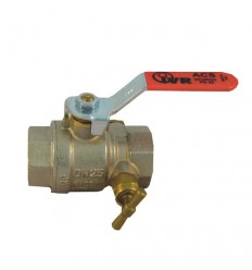 "Guľový ventil - 1/2"" FF s odvodnením 68 IVR"