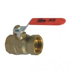 """Guľový ventil - 1/2"""" FF s pákou 954 IVR"""