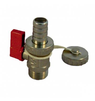 "Guľový ventil - 1/2"" vypúštací kotlový 904 IVR"