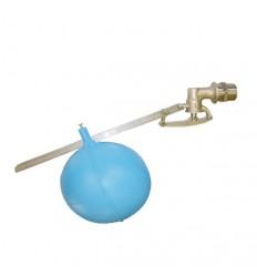 "Plavákový ventil 1"" priemyselný s guľou 150mm"