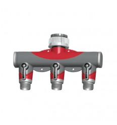 SPIDO adaptér 3-ventilový plastový