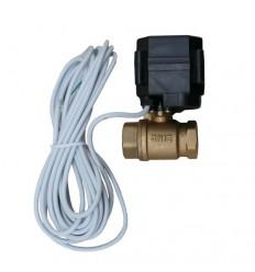 """Guľový ventil s pohonom 1/2"""" s káblom 5m"""