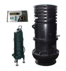 WILO WS 825 DM Set - kompletné šachta s čerpadlom MTC 150 DM na 3 x 400V