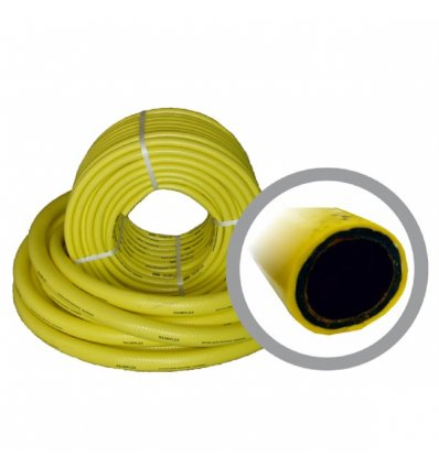 "Hadica 1/2""- 15metrov - žltá s dušou  12,7/17mm"